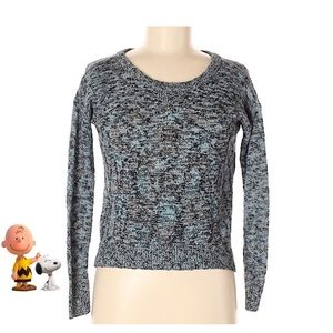 American Eagle 🦅 Outfitters Blue Metallic Sweater